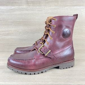 Men's Polo Ralph Lauren Ranger Cherry Brown Boots
